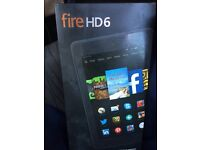Amazon fire hd6 Tablet