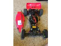 Losi 22 tlr brushless rc remote car hpi motor very fast see spec