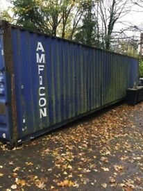 40 FT STEEL CONTAINER IN EXCELLENT CONDITION - Kingston upon Thames - £ 1,500