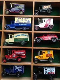 15 Model cars (incl. Lledo Days Gone By) - collectors item