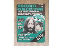 The Beatles - Nov 1980 John Lennon Record Collector Magazine.