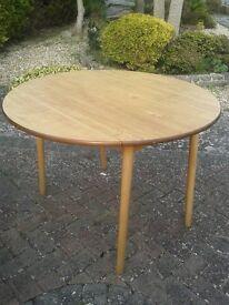 Dinette Retro Drop Leaf Kitchen Table & 4 Chairs