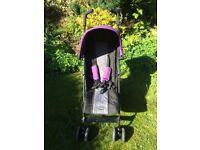 OBABY Purple Pushchair/Buggy