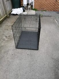 Large dog cage excilent condition