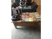 Xbox 360 and Kinect comes with 14 games controller and box excellent condition