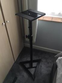 Telescopic Projector/Speaker Stand