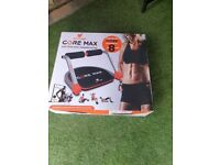 Core Max 8 in 1 Total Body Training System - Black GOOD CONDITION