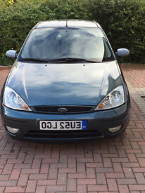 Ford Focus 1.6 i 16v Ghia 4dr (Genuine Low Mileage)