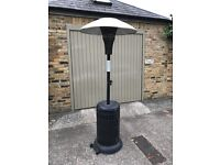 Gas Patio Heater, with wheels