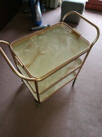 Lovely Tea Trolly in great condition. Top tray can be taken out. Cost over £300 new