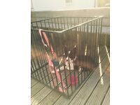 Large heavy duty puppy/dog cage
