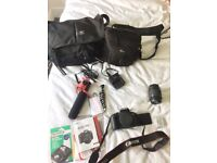 Canon EOS 700D Digital SLR Camera plus accessories