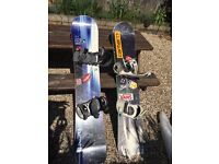 Buy 1 or 2 Snowboards + Bindings