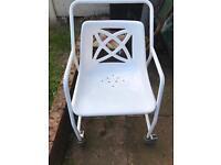 Disabled - elderly shower chair