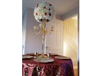 60CM diameter high quality silk flower centre pieces. for 200 guests(20 Pieces) wedding decorations