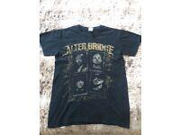 Womens Alter Bridge Rock n Roll T Shirt Top Tour 2011 Size Small