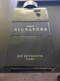 Brand new Next Signature aftershave 200ml
