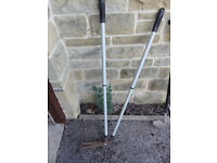 Lawn Edging Shears and Lawn Edging Knife/Spade