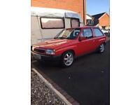 Vauxhall Nova SR Redtop c20xe