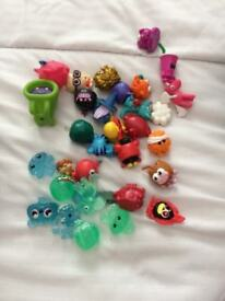 MOSHI MONSTER FIGURES AND CARDS