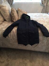 Men's VOI parka jacket in Small