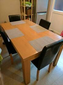 Free dinning table