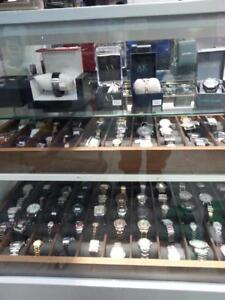 Watches! We Have a Huge Variety Of Designer Watches. Get the Perfect Gift. Get a Deal At Buster's Pawn.