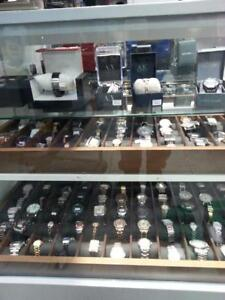 Watches! We Have a Huge Variety Of Designer Watches. Get the Perfect Gift. Get a Deal At Busters Pawn.