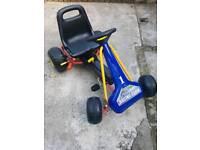 Kids pedal go cart