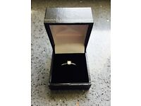Stunning 18 carrot white gold diamond ring. Immaculate condition.