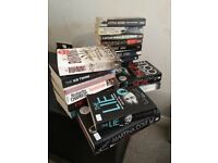 Box of popular paperbacks/hardbacks most in very good condition. Kimberley Chambers/Martina Cole etc