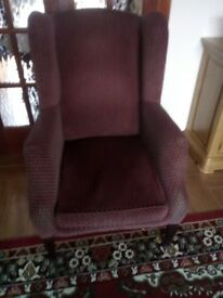 Fire side chair very clean no rips