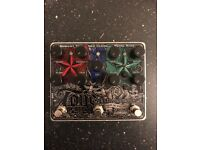 Electro Harmonix Tone Tattoo guitar pedal (chorus, delay and muff)