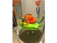 Fisher Price Roaring Rainforest Jumperoo - Great Condition