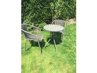 Bistro Set 2 seater excellent condition cost £75 selling for £20 no offers