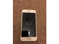 stuck on Apple logo ... iphone 6 16 gb silver excellent condition unlocked