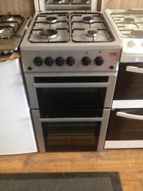 Beko silver gas cooker