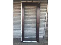 New residential uPVC door