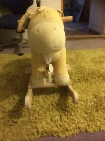 Rocking horse for a baby