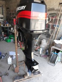 50 HP Mercury Outboard