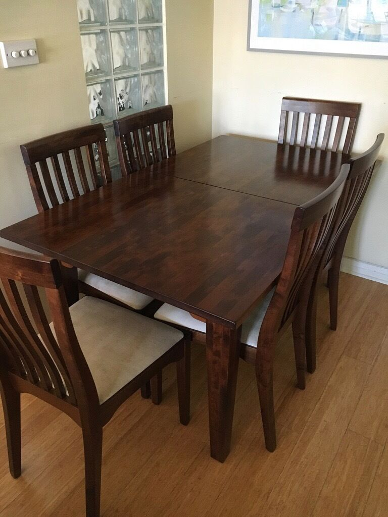 Laura Ashley Garrat Extending Dining Table and Chairs in  : 86 from www.gumtree.com size 768 x 1024 jpeg 101kB