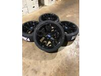 "Brand new set of 18"" alloy wheels and tyres Ford Mondeo Focus Connect"