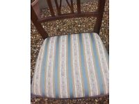 four dining chairs good condition