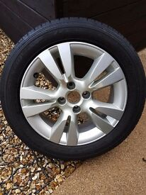 "16"" CITROEN DS3 ALLOY & TYRE"