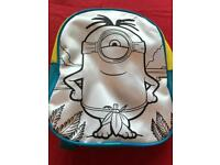 Colour your own minions bag.