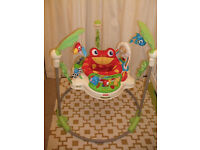 Fisher-Price Rainforest Jumperoo RRP £129. From clean and smoke free house