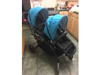 Contours Elite Twin Pram