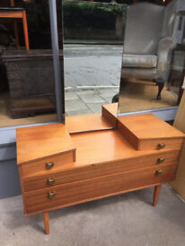 Retro Dresser -collection only feel free to view , great size size L 44 in D 17 in H 26 in