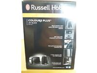 Russell Hobbs Stainless Steel Black Kettle - Brand new/boxed
