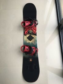 Snowboard & Bindings Salomon Pulse 156